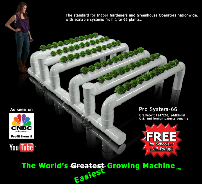 The World S Greatest Hydroponic Growing Machine From North